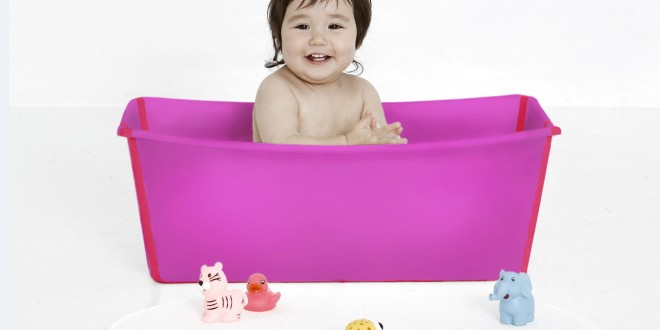 baignoire pliable flexibath de stokke les d gourdis. Black Bedroom Furniture Sets. Home Design Ideas