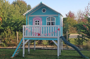 Cabane en bois pour enfants Sophie
