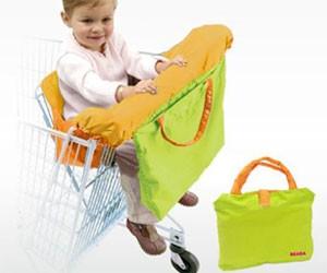 courses-bebe-supermarche-protege-chariot