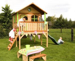 Cabane en bois pour enfants Sophie Axi